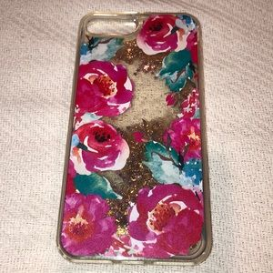 iPhone 7/8 PLUS hard rose flower case